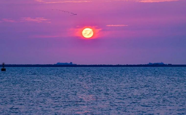 海南旅游 最美日落