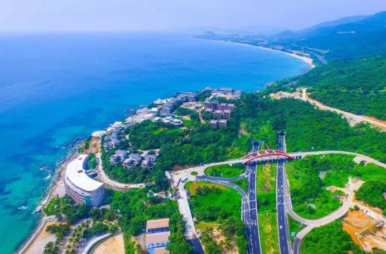 海南国家海岸一号旅游公路全线开工,208公里海景+无人驾驶, 公路界的