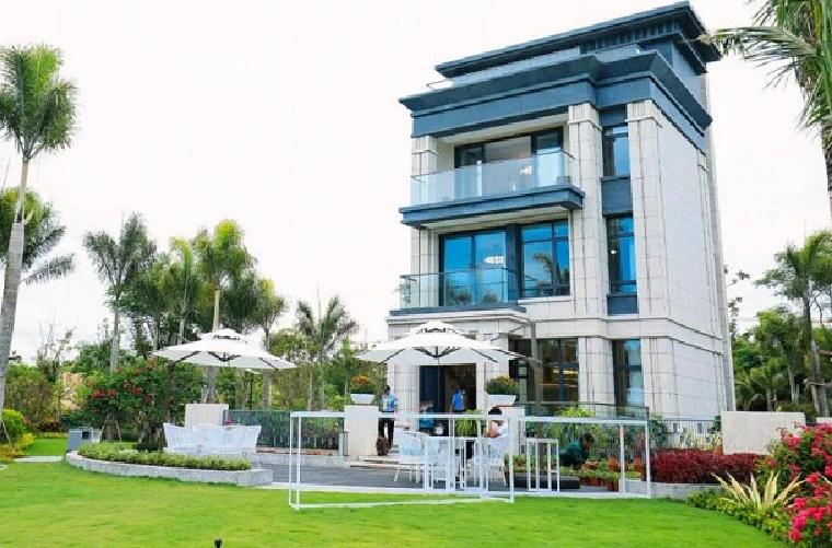 海南房产网品牌行   一路向南,鉴证海棠长滩别院的美好展示图