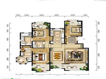 A3-1户型 三室两厅三卫